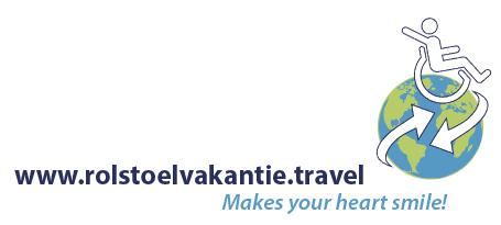 Vele gehandicapten vakanties binnen en buiten de EU | Logo_rolstoelvakatie.travel | Vele gehandicapten vakanties binnen en buiten de EU