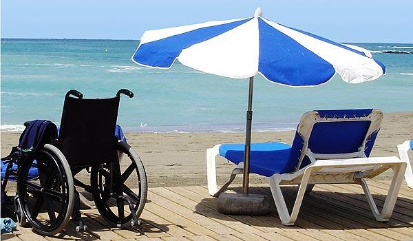 Vele gehandicapten vakanties binnen en buiten de EU | 600×350-Tenerife-Strand1.jpg | Vele gehandicapten vakanties binnen en buiten de EU