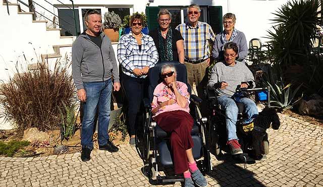 Vele gehandicapten vakanties binnen en buiten de EU | 640x370_Algarve-onze-groep.jpg | Vele gehandicapten vakanties binnen en buiten de EU